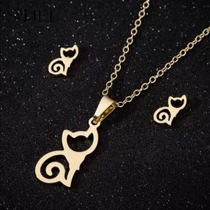 Jewelry - The Feline ♡ Cat Necklace Gift SET